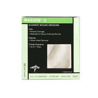 """Maxorb II Calcium Alginate Dressing, 4"""" X 4""""  60MSC7344EP-Each"""