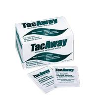 Tacaway Adhesive Remover Wipe, Non-Acetone, 50/Box  TRMS408W-Case