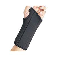 """Prolite Left Hand Wrist Splint, Medium, 6-1/2"""" - 7-1/2"""" Circumference, 8""""  BI22451MDBLK-Each"""