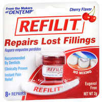 Refilit Cherry Flavored Filling Material, .07 oz.  KY972471-Each