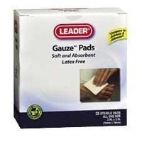 "Leader Sterile Gauze Pad, 4"" x 4""  PH2256840-Box"