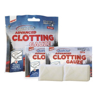 "QuikClot Advanced Clotting Gauze, 3"" x 24"", Pack of 2  TEN50200016-Pack(age)"