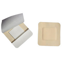 "Kendall Border Foam Gentle Adhesion Dressing, 3.5"" x 5.5"", Pad Size 2"" x 4""  6855546BG-Case"