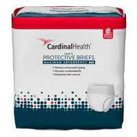 """Cardinal Maximum Absorbency FlexRight Protective Underwear for Men, Large/Extra Large, 45 - 58"""", 130 - 230 lbs  55UWMBLXL-Pack(age)"""