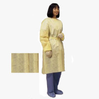 Lightweight Isolation Gown  Yellow  Universal  552100PG-Pack(age)