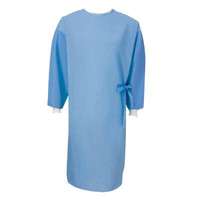 Fabric-Reinforced Sterile-Back Surgical Gown, Large, Disposable  559511-Case