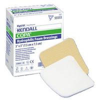 """Copa Plus Hydrophilic Ultra-Soft Foam Dressing, 4"""" x 4""""  6855544P-Box"""