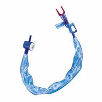 Closed Suction Catheter, Double Swivel Elbow, 12 fr, White  MI2271603-Each