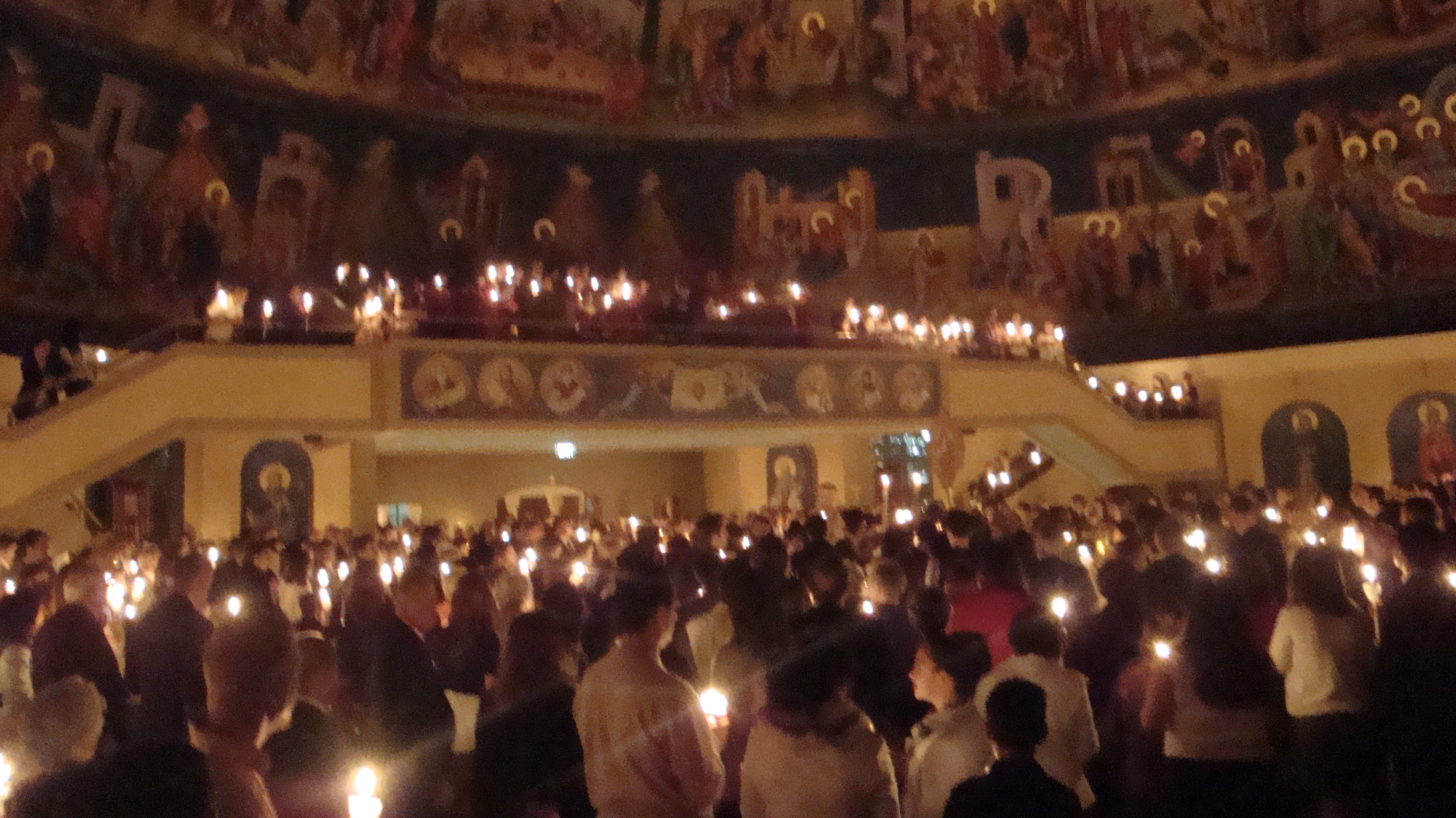 Pascha at the Cathedral in Denver