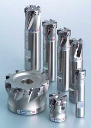 """APX3000UR243SA20LA (1 1/4"""") Mitsubishi Carbide Indexable End Mill"""