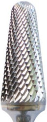 SL1 1/4 Double Cut Solid Carbide Burr HydraCarb