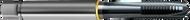 M10 x 1.50 NC 4416 Tap Spiral Point TiCN POWERTAP GUHRING