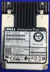 Dell Compellent Original Hard Drive 3.84TB SAS SSD 12GBPS  2.5 IN  Read Intensive (RI) WITH TRAY-7D4F6 /  Disco Original con Charlora Refurbished  DELL 41XNY, PX05SRB384Y,