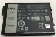 Dell Laptop Latitude 5424 , 5420, 7424 Rugged Original Battery 3-CELL 51WH 11.4V TYPE-7WNW1 / Batería Original  New Dell  DP3KF,GK3D3,DMF0C