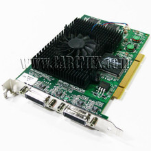 DELL PRESICION 340  VIDEO CARD MATROX G450 X4  PCI EXPRESS 128 MB DDR SDRAM NEW DELL  G45X4QUAD-BF