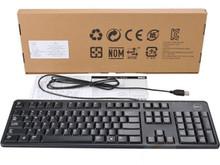 DELL Keyboard Original KB212-B Spanish Black USB Wired / Teclado USB Español NEW DELL 0R676, DJ454, KHCC7, 0R4JW, DJ462, 331-2249, KHCC7, 331-9598