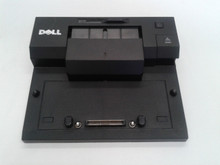 DELL LATITUDE E-SERIE  E-PORT ( 1 MONITOR) REPLICATOR SIN  POWER ADAPTER  REFURBISHED  DELL PW380 , PR03X, XX066