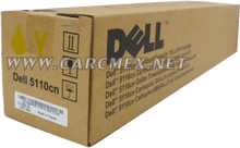 DELL IMPRESORA 5110 TONER ORIGINAL AMARILLO (8K PGS) STANDARD NEW DELL GD918, GD908, 310-7896, A7247624