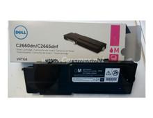 DELL Impresora C2660DN/C2665D NF Toner Original Magenta (4K) NEW DELL V4TG6, VXCWK, 593-BBBS