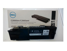 DELL Impresora C2660DN/C2665DNF Toner ORIGINAL Negro (6K) NEW DELL 67H2T, RD80W, 593-BBBU