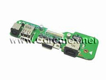 DELL INSPIRON 1545 DC POWER JACK / USB IO CIRCUIT BOARD, REFUBISHED DELL, 1545DCBOARD, 4AQ03