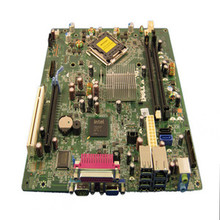 DELL OPTIPLEX 380 SFF MOTHERBOARD 2 DIMM SLOTS LGA 775 / TARJETA MADRE REFURBISHED DELL 1TKCC, R64DJ