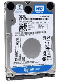 DELL LAT D630 HARD DRIVE 500 GB SATA 5400RPM WESTERN DIGITAL 2.5  8MB CACHE