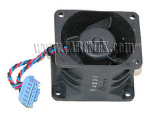 DELL POWEREDGE 1750 DUAL FAN 12V 6-PIN CONNECTOR REFURBISHED DELL T3907, GFB0412SHE, 8X771