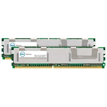 DELL MEMORIA 4 GB (2X2GB) 667 MHZ PC2-5300 DDR2 SDRAM DIMM 240-PIN ECC NEW DELL A6403994, SNPD558CCK2/4G