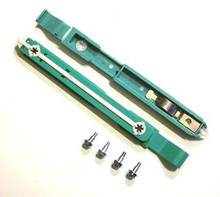 DELL HARD DRIVE RAILS / RIELES PARA DISCO DURO REFURBISHED DELL  87VYR, 21TUG