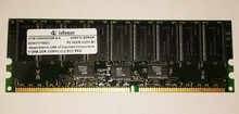 DELL POWEREDGE 2600 ,4600 SERVER 1GB KIT (2 X512MB) MODULES INFINEON ECC REFURBISHED DELL  HYS72D64000GR