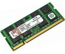DELL INSPIRON 1110, 1320, 1300, 1501, 1545, 1546, 1720,1750, 400 ZINO, 6000, 630M, 6400, 9300, 9400, B120, B130 , MINI 9 MEMORIA 1GB (PC2-6400) DDR2-800MHZ SODIMM NEW  KTD-INSP6000C/1G
