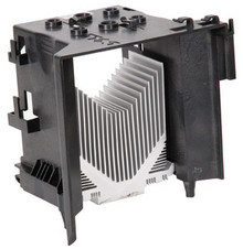 DELL POWEREDGE T100 HEATSINK AND SHROUD ASSEMBLY  REFURBISHED DELL Y675G , N032G