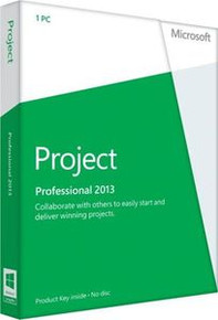MS PROJECT PRO 2013 SINGLE OPEN LIC W1PRJCTSVRCAL PRODUCT NO LEVEL PYMES  H30-04073