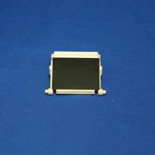 DELL IMPRESORA 2335, 2355 ADF SEPARATION PAD ( BLACK PLASTIC WITH RUBBER PAD) / SEPARADOR DE HOJAS EN EL SCANNER ( PLASTICO NEGRO CON GOMA ) NEW DELL KW462