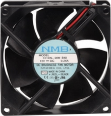 DELL FAN,12V,80MM X 25MM 3110KL04WB50 76375