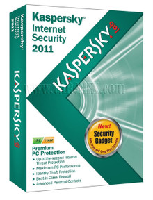KASPERSKY INTERNET SECURITY 2011 LATINAMERICA EDITION. 1 USUARIO, 1 AÑO CAJA  KL1837DBAFS