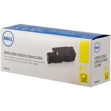 DELL Impresora 1250, 1350, 1355, C1760, C1765 TONER Original Amarillo (1.4K PGS) Alta Capacidad NEW DELL WM2JC, W8X8P, 332-0408, DG1TR, 331-0779, 5M1VR