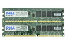 DELL POWEREDGE 1650  MEMORIA  2GB( 2 X 1GB ) PC133 ECC REGISTERED 168PIN 128 X72 -133MHZ PC133 DELL REFURBISHED SNP9U175C/1G