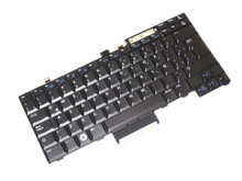 DELL LAPTOP LATITUDE E5400, E5410, E5500 , E5510 ORIGINAL KEYBOARD SPANISH BLACK  / TECLADO EN ESPAÑOL REFURBISHED DELL NSK-DBB1E, CP720, V081325FK1, 7N4V0