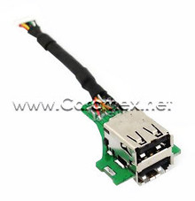 DELL INSPIRON 9200 / 9300 / 9400 / E1705 / M1710 / M170 / M90 USB JACK WITH CABLE REFURBISHED DELL R8383