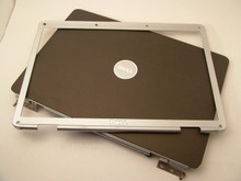 DELL INSPIRON 1525, 1526 TOP LCD BACK LID COVER + BEZEL  / TAPA EXTERIOR + BEZEL  NEW XT984 , RU676