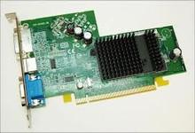 DELL RADEON X300 SE 128MB PCIE PCI EXPRESS DVI VGA TV-OUT S-VIDEO DELL REFURBISHED DELL UC996