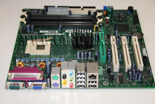 DELL DIMENSION 4600 MOTHERBOARD W/ VIDEO CARD F4491, N2828, 2Y832