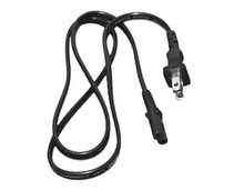 DELL SLIM PA-12 AUTO / AIR TRAVEL, AC ADAPTER POWER CORD FLAT 2 PRONG 3 FOOT NEW DELL GU952