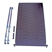 DELL FIXED RACK EQUIPMENT SHELF WITH 4-POST STATIC RAILS,1U NEW DELL 7163U, 4W8NF, 330-578X