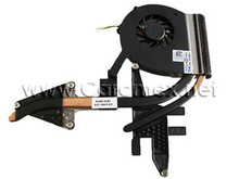 DELL VOSTRO 3700 CPU FAN AND HEATSINK ASSEMBLY FOR DISCRETE NVIDIA GRAPHICS REFURBISHED DELL YJ55T