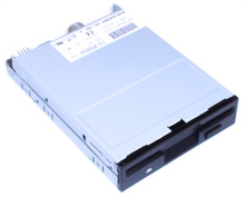 DELL POWEREDGE 6400,1300 ,2300 FLOPPY DRIVE 1.44 BLACK REFURBISHED DELL 9641D
