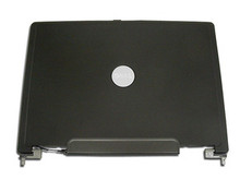 DELL VOSTRO 1000 15.4 LCD BACK COVER LID PLASTIC WITH HINGES KT786