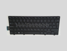 DELL Laptop Inspiron 14 (3441/ 3442/ 3443/ 3451) / Latitude 3450 Keyboard Spanish LAYOUT NON BACKLIT BLACK  / Teclado En Español  NO ILUMINADO NEW DELL, TCKCW